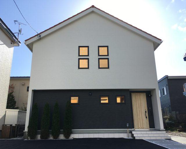 HPリニューアル致しました!~函館市鍛治にモデルハウス完成~
